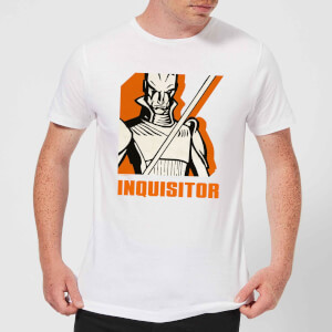 Star Wars Rebels Inquisitor Herren T-Shirt - Weiß