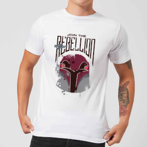 Camiseta Star Wars Rebels Rebellion - Hombre - Blanco