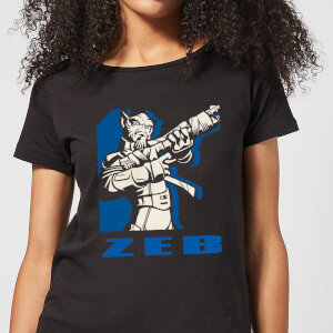 Star Wars Rebels Zeb Women's T-Shirt - Black