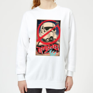 Star Wars Rebels Poster Women's Sweatshirt - White