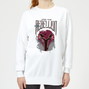 Star Wars Rebels Rebellion Women's Sweatshirt - White