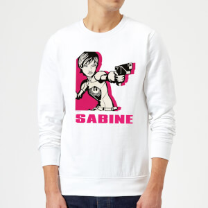 Sweat Homme Sabine Star Wars Rebels - Blanc