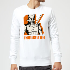 Sweat Homme Inquisitor Star Wars Rebels - Blanc