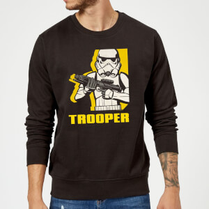 Star Wars Rebels Trooper Sweatshirt - Black