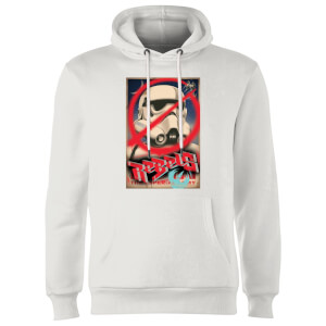 Star Wars Rebels Poster Hoodie - White