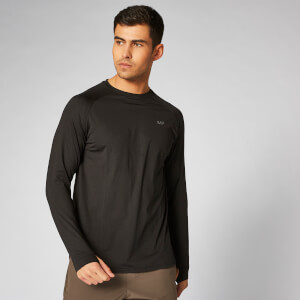 Myprotein Dry Tech Infinity Long Sleeve T-Shirt - Black
