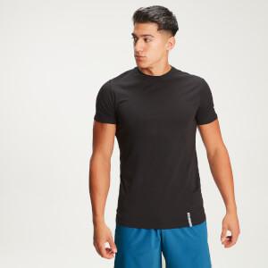 Ανδρικό Κλασικό Μπλουζάκι MP Luxe - Μαύρο