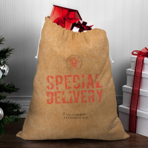 Special Delivery for My Favourite Child Christmas Sack
