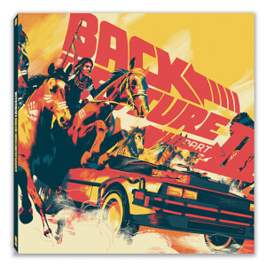 Mondo Back To The Future Part III (Score) - Original Soundtrack 2xLP