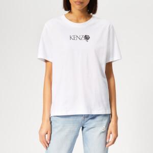 KENZO Women's Comfort T-Shirt - White