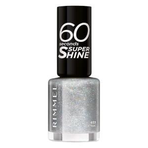 Rimmel 60 Seconds Glitter Nail Polish Extra -kimallekynsilakka
