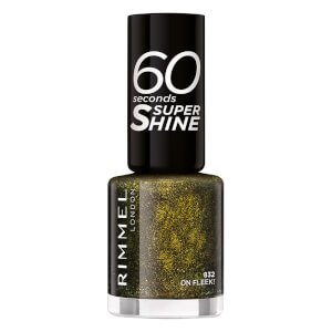Rimmel 60 Seconds Glitter Nail Polish - On Fleek