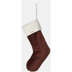 Ferm Living Christmas Velvet Stocking - Rust