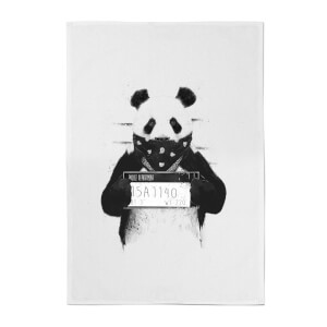 Balazs Solti Bandana Panda Cotton Tea Towel