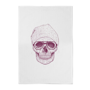 Balazs Solti Skull Cotton Tea Towel