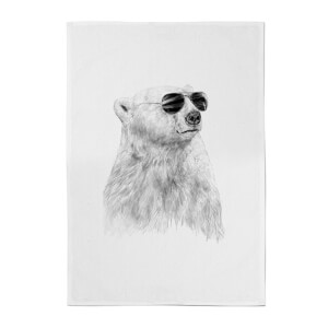 Balazs Solti Cool Bear Cotton Tea Towel