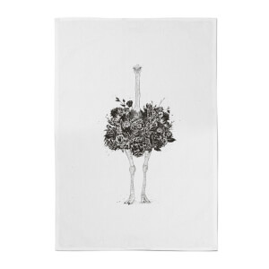 Balazs Solti Ostrich Cotton Tea Towel