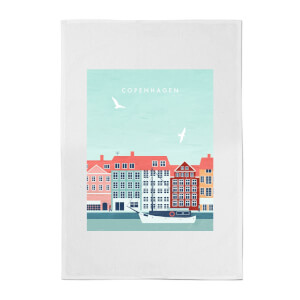 PlanetA444 Copenhagen Cotton Tea Towel