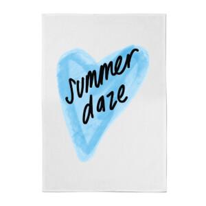 Rock On Ruby Summer Daze Cotton Tea Towel