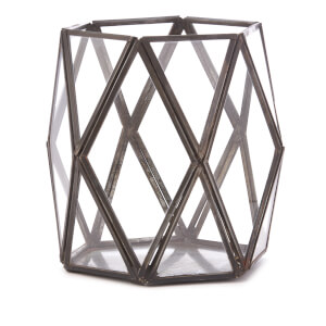 Nkuku Talni Planter - Antique Black