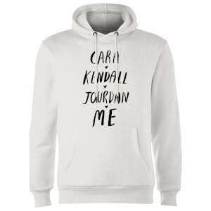 Rock On Ruby Cara Kendall Jourdan Me Hoodie - White