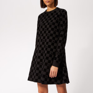 McQ Alexander McQueen Women's Babydoll Dress - Black Black