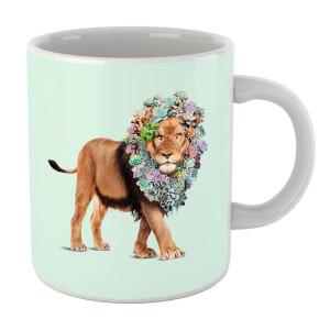 Jonas Loose Floral Lion Mug