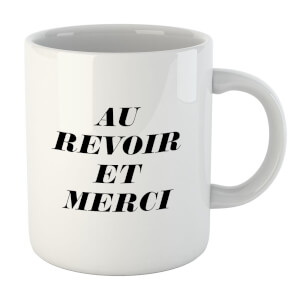 PlanetA444 Au Revoir Et Merci Mug