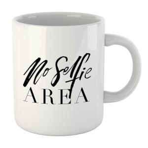 No Selfie Area Mug