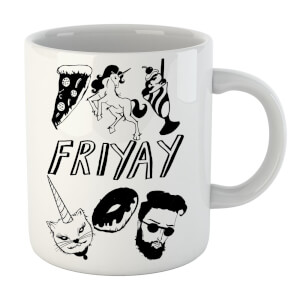 Rock On Ruby Friyay Mug