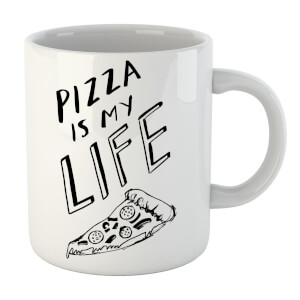 Rock On Ruby Pizza Is My Life Mug