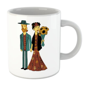 Tobias Fonseca Love Is Art - Frida Kahlo and Van Gogh Mug