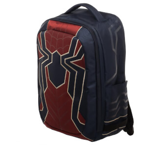 Marvel Spider-Man Built Up Laptop Backpack - Black
