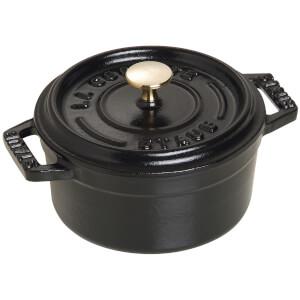 Staub Round Mini Cocotte - Black - 10cm