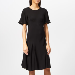 See By Chloé Women's Crepe Studded Dress - Black