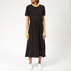 See By Chloé Women's Laser Cut Jersey Dress - Black