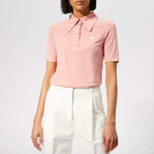 See By Chloé Women's Polo T-Shirt - Ash Rose