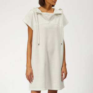 See By Chloé Women's Hooded Dress - Crystal White