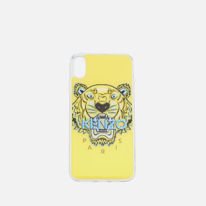 KENZO Women's Tiger Head iPhone X+ Case - Vanilla