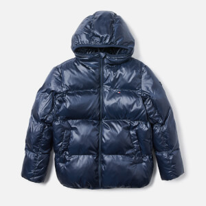 Tommy Hilfiger Boys' Padded Flag Jacket - Navy