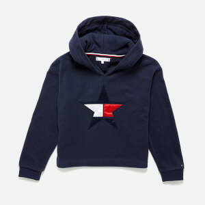 Tommy Hilfiger Girls' Polar Fleece Hoody - Black Iris