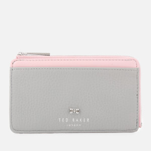 Ted Baker Women's Lotta Bow Detail Credit Card Holder - Grey