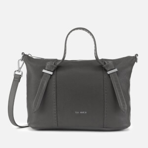Ted Baker Women's Olmia Knotted Handle Small Tote Bag - Charcoal