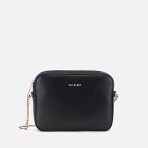 Ted Baker Women's Juliie Leather Cross Body Camera Bag - Black