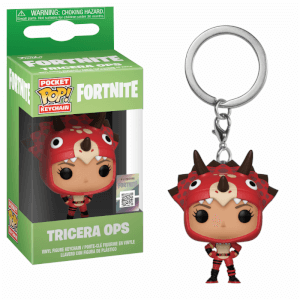 Llavero Funko Pop! - Tricera Ops - Fortnite