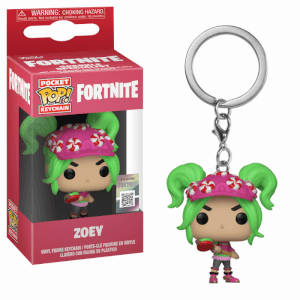 Fornite Zoey Pop! Keychain