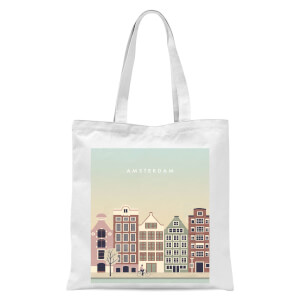 Amsterdam Tote Bag - White