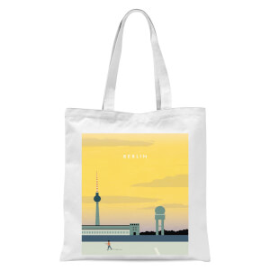 Berlin Tote Bag - White