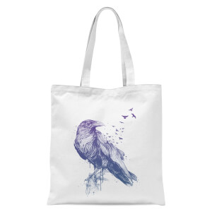 Balazs Solti Birds Flying Tote Bag - White