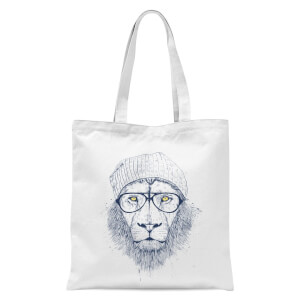 Balazs Solti Lion Tote Bag - White